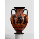 Attic Black-Figure Neck-Amphora